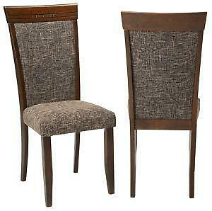 Delightful Antique Wood Dining Chairs