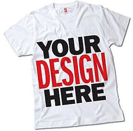 Personalised Garment printing Events T-Shirts, Charity, work, stag, hen, promotion, Hoodies prints