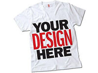 Personalised T-Shirt printing for all events and occasion (Instant Print 1hr wait) Garment printing