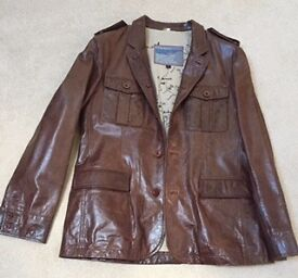 Beautiful Men's Leather Jacket