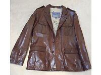 Beautiful Men's leather jacket hardly used