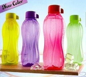 TUPPERWARE-AQUASAFE-WATER-BOTTLES-1-LTR-1000-ML-4-PCS