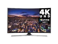 "Samsung 48"" 4K UHD Smart LED Curved Tv RRP£1099 warranty free delivery"