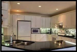 New NOT used White kitchen cabinets, 12 ft  $2023-23%= $1557