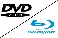 Liquidation sur tout les films DVD 3 pour 5$ & BLURAY 5 pour 20$