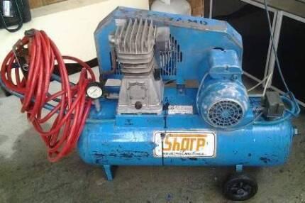 Sharp Industrial Air Compressor