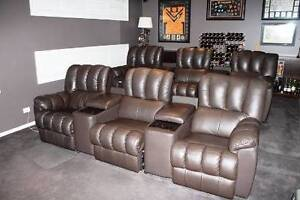 Home Theatre Lounges - Two 3 Seat Combinations Mardi Wyong Area Preview