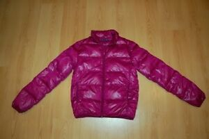 Souris Mini manteau en duvet léger fushia Small adulte
