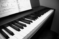 Cours de piano et de solfège / Piano and music theory lessons