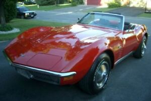 Mint Condition 1970 Monza Red Corvette Stingray Convertible