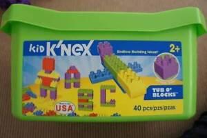 URGENT SALE - Kid K'Nex + Tub o'Blocks Pymble Ku-ring-gai Area Preview