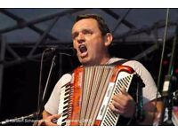 Accordion player available for band / session / recording work
