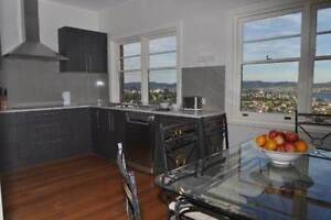 Short term upmarket accommodation, close to Utas, stunning views Dynnyrne Hobart City Preview