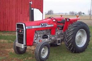 we buy parts tractors old or new