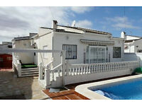 Villa with Private Pool COSTA BLANCA TORREVIEJA - Sept / Oct 2016 Special Offer only £200 p.w