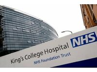 Hospital Porter in Kings College Hospital - Driving Licence £7.71