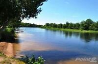 1 acre waterfront lot on Canal near Lake Utopia, NB