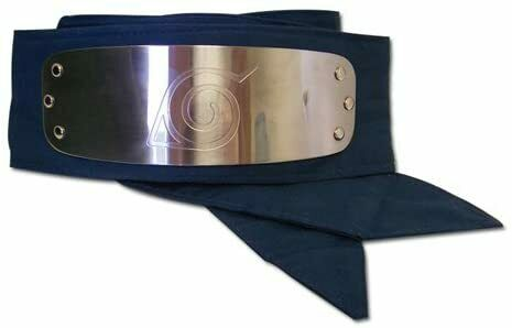 Great Eastern GE-7712 Naruto Leaf Village Logo Headband Cosplay Headband