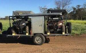 Bike Trailer / quad bike trailer / camping flat top trailer Botany Botany Bay Area Preview