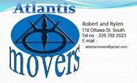 ATLANTIS MOVING CALL NOW 226-748-9470