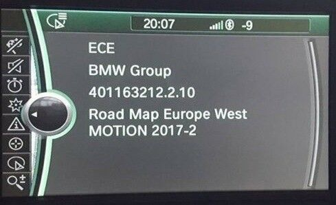 Latest 2019 1 Sat Nav Update For Bmw Cic Nbt Motion Navigation Map Www Latestsatnav Co Uk In Almondsbury Bristol Gumtree