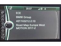 Latest 2018-1 Sat Nav Update For BMW CIC & NBT MOTION Navigation Map www latestsatnav co uk