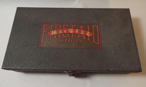 Antique First Aid Kit Ebay