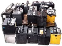 Battery scrap removal - FREE PICKUP and disposal