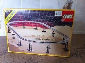Lego 6921 Vintage monorail accessory set - new and unopened