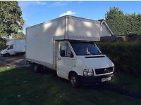 man and van removal service house clearance sameday service upto 3men in xl luton van with taillift
