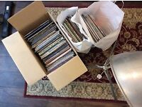 Large collection of 200 LPs/vinyl records - 1990s electronic, dance, trance