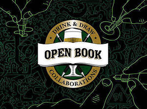 Open Book: Drink & Draw Collaborations, Pike, New Book