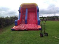 Bouncy castle mega slide