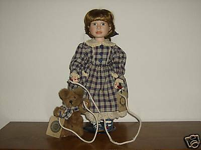 Boyds Doll Taylor with Jumper ... Play Time LE of 12000