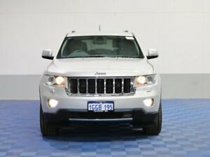 2013 Jeep Grand Cherokee WK MY13 Limited (4x4) Silver 5 Speed Automatic Wagon