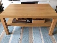beach wood affect coffee table cud deliver