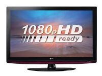 37 INCH LG FULL HD LCD TV WITH BUILT IN FREEVIEW **CAN BE DELIVERED**
