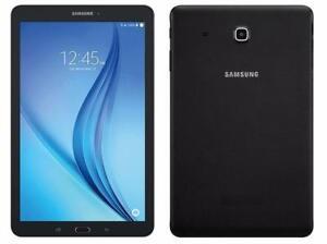 LIKE NEW Samsung Galaxy Tab E 8.0 Wifi + Unlocked 3G LTE Cellular 16GB Tablet