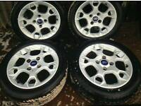 Fiesta zetec alloys wheels