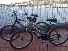His and Her Dunlop Mountain Bikes Double Bay Eastern Suburbs Preview