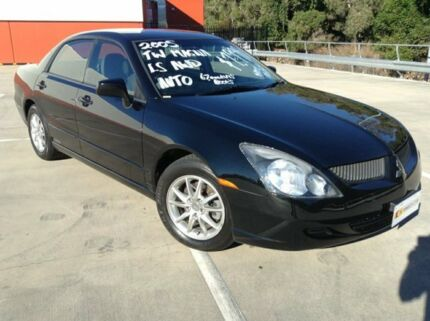 2005 Mitsubishi Magna TW Series II LS AWD Black 5 Speed Auto Sports Mode Sedan Morayfield Caboolture Area Preview