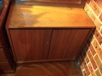 Wooden Cabinet ( 85cm x 45cm x 70cm )
