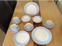 Royal doulton dinner and tea set (new)