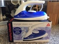 Morphy Richards voyager steam iron small ***brand new with box***