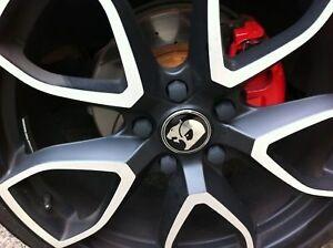 Hsv-Black-Wheel-Nut-Covers-Caps-19mm-Holden-GM-Genuine-VN-VR-VS-VT-VX-VY-VU-VZ