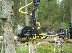 Arbro 400S Excavator Forestry Harvester Head