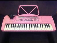 Pk-4100 Pink Electronic Keyboard