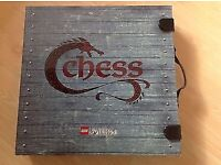 Lego vikings chess set. Rare collectable