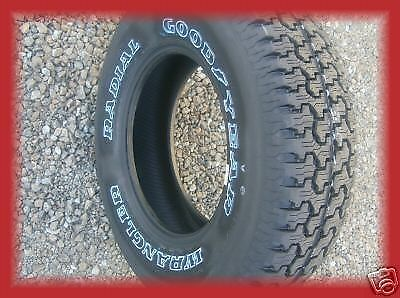 4 New 23575R15 Goodyear Wrangler Radial All Terrain Tires 235 75 15 2357515 R15