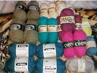 Joblot of wool